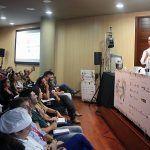 El binomio cocina y ciencia, eje de la disertación del chef Mario Sandoval