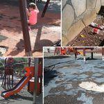 Parque urbano de Las Galletas es una vergüenza