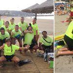Pruebas escondidas y ocho personas a las que rescatar  en tres playas de Arona