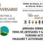 Talleres infantiles, teatro, rutas guiadas, música y feria en el XX aniversario de la Asociación Comarcal Chasna-Isora