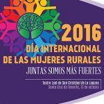 Medio millar de mujeres rurales conmemorarán su Día Internacional