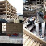Edificio abandonado en Los Cristianos, convertido en basurero, fuente de ratas y albergue