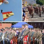 Casi 400 personas participaron en la jura de la Bandera en Adeje