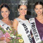 La estudiante de farmacia, Paula Pérez, nueva «Miss Sur» 2016, realizado en Adeje
