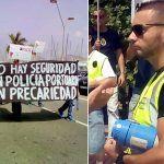 Policía Portuaria de Las Palmas comienzan una huelga de hambre