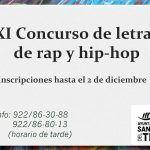 Juventud pone en marcha el XI Concurso de Letras de Rap y Hip Hop
