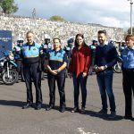 Santa Cruz colabora con La Laguna en un curso de conducción de motos para policías