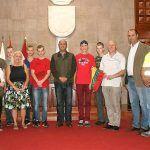 Estudiantes lituanos realizan sus prácticas formativas en la administración municipal Granadillera