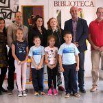El colegio Isaac de Vega en San Isidro rinde homenaje al escritor canario