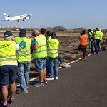 El Aeropuerto de Tenerife Sur recibe a 50 spotters en su II Open Day TFS