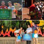 Siam Park y Loro Parque celebran por todo lo alto la llegada de 2 millones de visitantes
