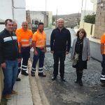 Comienza el proyecto de mejora y repavimentación de la calle de la iglesia de Chimiche
