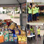 Buen comienzo de la Campaña Solidaria de la Policía Local de Arona