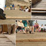 El paseo marítimo de El Médano,  una trampa para transeúntes