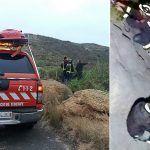 Rescatan a una senderista con su perro en Arico