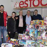 El sector empresarial dona 3.000 euros en juguetes