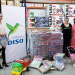 DISA contribuye a la recolecta de juguetes para familias con escasos recursos