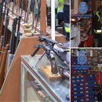 Desarticulada una organización criminal a la que se han incautado 8.000 armas de guerra