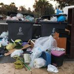 Vecinos de Costa del Silencio piden que recojan la basura los fines de semana