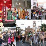Los Reyes Magos llenan Granadilla de Abona de magia, ilusión y caramelos