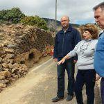 El Ayuntamiento acomete el acondicionamiento de la vía Canales Altas de Cruz de Tea