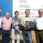 Los pilotos Marco Lucchinelli y Álex Caffi visitan las obras del Circuito del Motor de Tenerife