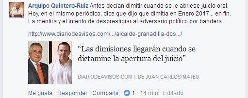 Cs y PSOE Granadilla 4 300117