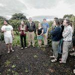 Estudiantes americanos se interesan por la agricultura y ganadería canarias