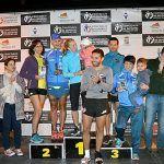 Pablo Ojea y Elena Bogdanova ganadores absolutos de la V Carrera Nocturna Solidaria