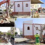 Comienzan las obras de la nueva plaza y aparcamientos de Playa San Juan