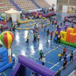 Alrededor de 1.000 menores se dieron cita en el Parque Infantil de Navidad de Granadilla