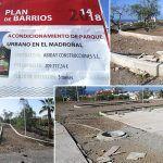El Parque Urbano de El Madroñal en Adeje se encuentra en total abandono