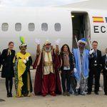 Los Reyes Magos aterrizan en el Aeropuerto de Gran Canaria
