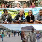 Eurodiputados visitan La Tejita para comprobar el impacto del futuro Hotel