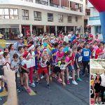 Medio millar de participantes corrieron la tradicional 'San Silvestre Medanera'