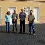Concluye el proyecto de mejora y repavimentación de la calle de la iglesia de Chimiche