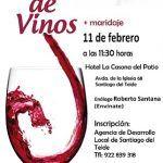 La AEDL de Santiago del Teide realiza un curso de cata de vinos con maridaje