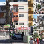 Las reformas en el local de Banesto causante del desplome del edificio de Los Cristianos