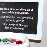 Los aeropuertos canarios instalan medidores de percepción de calidad de sus servicios