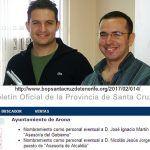 Nicolás Jorge, concejal imputado de granadilla y su esposa, trabajan en el ayuntamiento de Arona