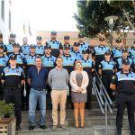 Un total de 25 de agentes de la Policía Local ejercen su periodo de prácticas en Granadilla