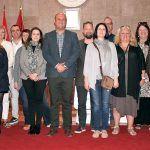 Profesores de Polonia y Suecia visitan el municipio con motivo del programa Erasmus+