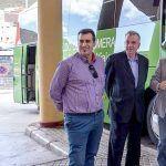 El Cabildo de La Gomera dotará de luz fotovoltaica a la red insular de marquesinas