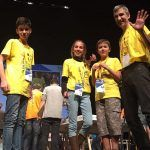 Aldeatrón Robotix de Arona, premio a la mejor programación de robot First Lego League
