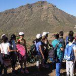 El Aula de la Naturaleza de Arona promueve la conservación de los espacios naturales entre el alumnado