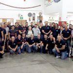 Los Bomberos Voluntarios de Adeje celebran el día  de su patrón