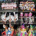 Las Américas se llena de ritmo y color con la cabalgata del Carnaval de Los Cristianos