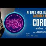 Corona, estrella invitada del próximo 'Children Of The 80's' en Hard Rock Hotel Tenerife