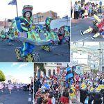 Colorido, ritmo y fantasía del Carnaval en el coso de Granadilla