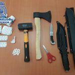 Detienen a un hombre armado con varios cuchillos en un centro de salud de Las Palmas